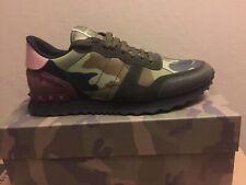 e60c8ba705be5 Valentino Garavani Mens Rockrunner Sneaker Camo Brand New Size 12 Us  Multicolor