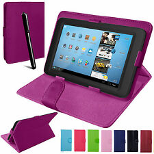 "Universal PU Leather Stand Folio Case Tablet Cover For 7"",8"" 9"".,9.7"",10"" 10.1"