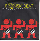 BRONSKI BEAT Hit That Perfect Beat PICTURE SLEEVE 45 record NEW + juke box strip
