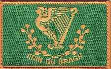 "ERIN GO BRAGH IRISH PATCH NEW 2 1/2"" BY 3 1/2"""
