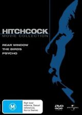 Psycho / The Birds / Rear Window (DVD, 2007, 3-Disc Set)