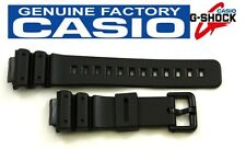 CASIO DW-6900 G-Shock 16mm Original Black Rubber Watch BAND Strap DW-6900G