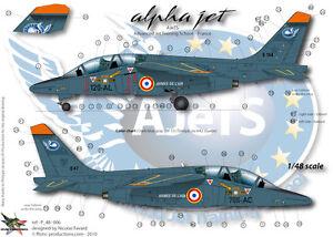 """Mirage F1CR  100 ans de la BR11 /""""la Cocotte/"""" FFSMC Productions Decals 1//48"""