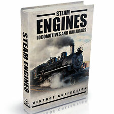 203 RARE Steam Engines Locomotives and Railways Books Books on DVD Railroads