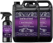 Dirtbusters Premium verano Bayas Waterless Lavado De Coches Y Limpiador De Cera 10.5 L