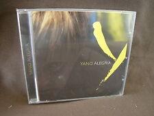 YANO ALEGRIA NEW NUOVO SIGILLATO  CD