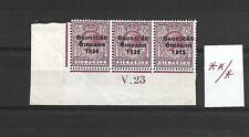 IRELAND 1922 Scarce 6d V23 Control with OFFSET Variety MLH / MNH