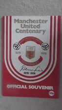 Man.Utd.Offic'l Souvenir Program 1978, Hand-Signed twice by DENNIS LAW-Authentic
