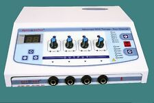 New Brand  Electrotherapy Physiotherapy Pain Therapy 4 Channel DynoPlus TDI