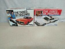 MPC The Dukes Of Hazzard General Lee & Sheriff Rosco's Police Car Factory Sealed