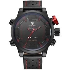 Weide sports military men watch leatherLED, Dive, Diving, Sports Watch, WH-5210