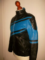 vintage XONOX Motorradjacke Lederjacke motorcycle oldschool biker jacket 44 S