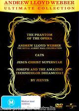 ANDREW LLOYD WEBBER: Ultimate Collection DVD NEW Phantom Cats Jesus...6-DISCS R4
