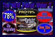 Patriot Water 2 Pro78% calcium hypochlorite 200 x 300mg Capsules