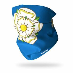 Snood Scarf Neckwarmer Neck Gaiter Yorkshire Rose Flag Scarf