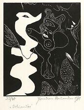 Hermann Naumann-quimera-corte de madera 1971
