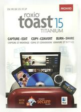 ROXIO TOAST 15 TITANIUM RTOT15MLMBAM Media Toolkit For Mac #8671