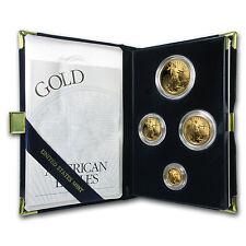 2000-W 4-Coin Proof Gold American Eagle Set (w/Box & COA) - SKU #4902