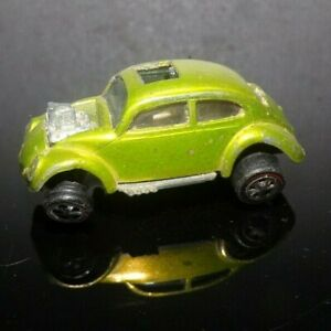 Vintage 1967 Mattel Hot Wheels Green Lime CUSTOM VOLKSWAGEN VW Bug Car
