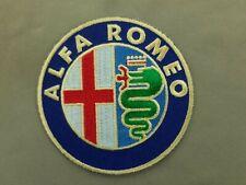 Alfa Romeo Embroidered Iron On Automotive Patch