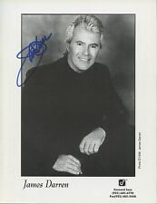 James Darren (Entertainer) Signed Black And White Photo Bs4318