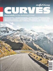 CURVES Österreich - Von Reutte nach Triest - Reiseplanung/Touren/Bildband/Buch