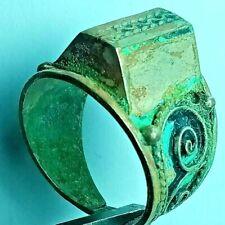 ANCIENT ROMAN SILVER RING WEDDING RING X LEGIO RING RARE ARTIFACT AUTHENTIC