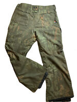 Dc Mens Code 15k Water Proof Snow Pants Size Large