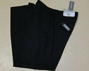 Michael Kors Monroe Dress Pants For Men Black MOJOPX4Y0000 Sz 36x30 - NWT