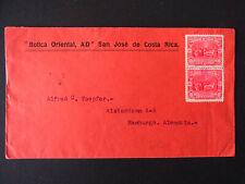 Bedarfsbrief Costa Rica 10 Centimos MeF San José-Hamburg - b6652