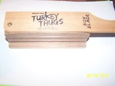 Mossy Oak , Quaker Boy Turkey Thugs - Wood Box Turkey Call - Vgc