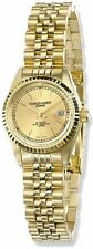 Ladies Charles Hubert IP-plated Gold-tone Dial Watch