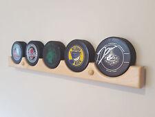 Hockey Puck Display Case Holder / Rack (5)
