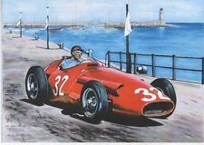 Fangio, Monaco Grand Prix 1957 art print