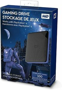 HARD DISK ESTERNO GAMING WESTERN DIGITAL PS4 PLAYSTATION USB 3.0 4TB 4000GB