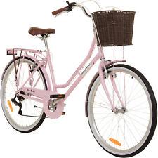 Damenfahrrad 26 Zoll Cityrad Galano Belgravia Fahrrad Mädchenrad Pink B-Ware