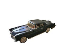 1956 Lincoln Continental Mark II Black 1/43 Scale Franklin Mint Classic Diecast