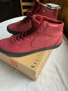 Nike SB Bruin High ISO Leo Baker 'Orange Label' Men's Skate  sz11.5  CT8588-600