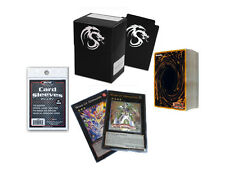 YuGiOh ~60~ Cards Pack w/ XYZ + Rares & Holos + Deck Box & Sleeves Ebay Store