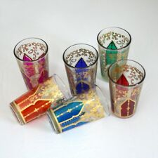 Marokkanische Teegläser Türkische Arabische Gläser Orientalische Glas 6 Stück