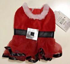 Dog Cat Puppy Pet Christmas Xmas Costume Clothes Sweater XS Santa Clause Dress