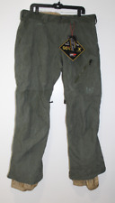 Burton AK Goretex Pants Men Green Size Medium