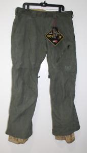 Burton AK Goretex Pants Men Green Size XXL