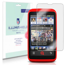 iLLumiShield Matte Screen Protector w Anti-Glare/Print 3x for INQ Cloud Touch