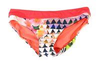 Prana Women's Swimwear Pink Size Large L Floral Geometric Bikini Bottom $50 #918