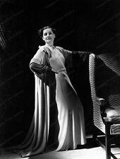 8x10 Film Negative  Norma Shearer Studio Fashion Portrait #1008855