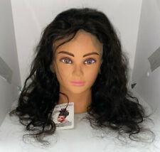 Glueless Body Wave Lace Front Wigs 18 inch Unprocessed Brazilian Virgin Human