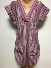 The MASAI Clothing Company size L - XL Balloon Dress Pink Beige Striped