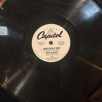 Dizzy Gillespie Honeysuckle Rose Carambola EX CAPITOL 892 WLP RARE PROMO 78