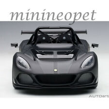 Autoart 75391 Lotus 3-Eleven 1/18 Model Car Matte Black with Gloss Black Accents